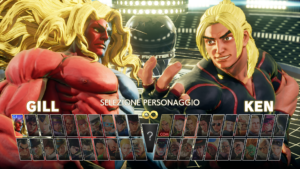 Street Fighter V roster