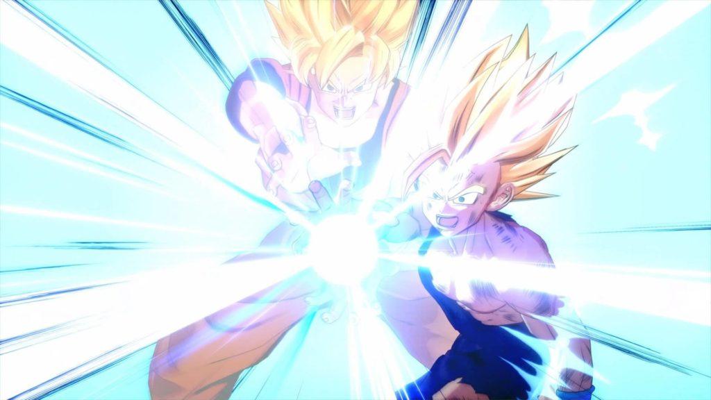 Dragon Ball Z: Kakarot Kamehameha padre-figlio