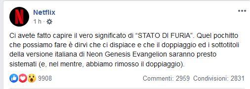 Neon Genesis Evangelion Netflix
