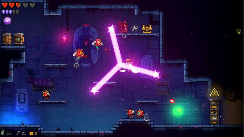 Neon Abyss rooms