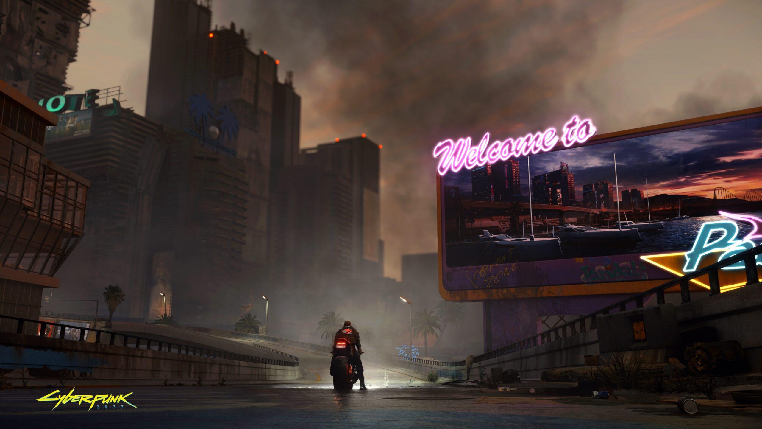 cyberpunk scenery
